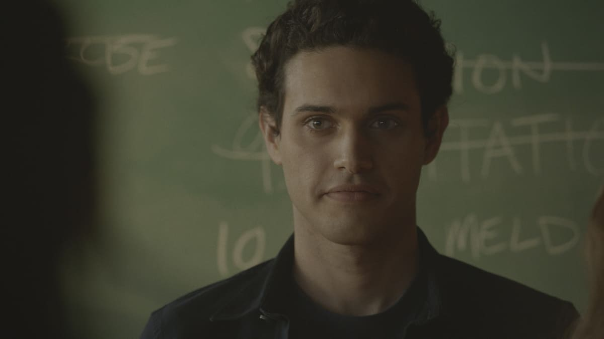 """LEGACIES Season 3 Episode 11 -- """"You Can't Run from Who You Are"""" -- Image Number: LGC311fg_0007r -- Pictured: Aria Shahghasemi as Landon Kirby -- Photo: The CW -- © 2021 The CW Network, LLC. All Rights Reserved."""