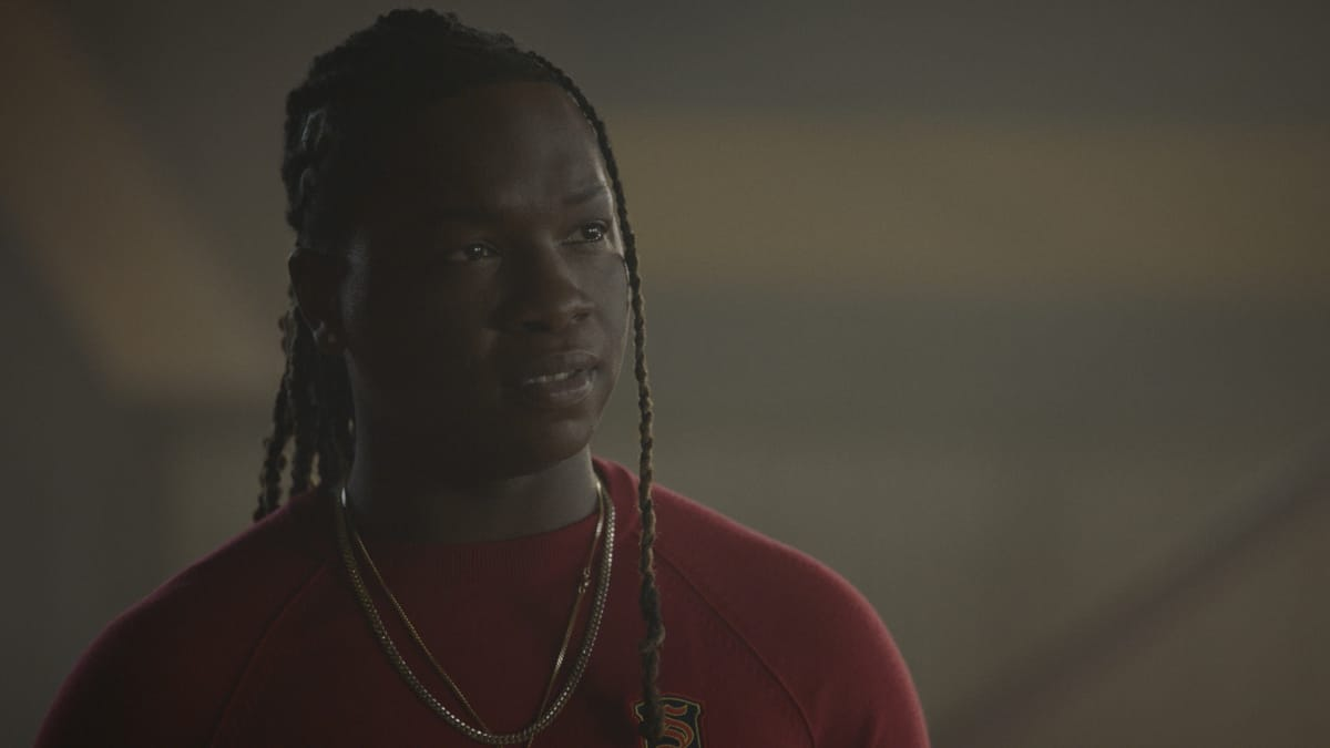 """LEGACIES Season 3 Episode 11 -- """"You Can't Run from Who You Are"""" -- Image Number: LGC311fg_0003r -- Pictured: Chris Lee as Kaleb -- Photo: The CW -- © 2021 The CW Network, LLC. All Rights Reserved."""