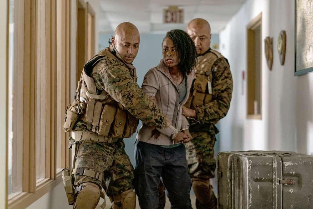 """VAN HELSING Season 5 Episode 4 -- """"State of the Union"""" Episode 504 -- Pictured: Keeya King as Violet -- (Photo by: Daniel Power/Nomadic Pictures Inc./SYFY)"""