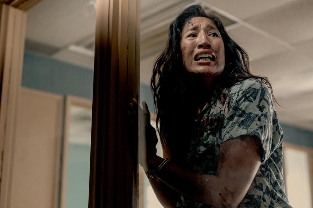 """VAN HELSING Season 5 Episode 4 -- """"State of the Union"""" Episode 504 -- Pictured: Jennifer Cheon Garcia as Ivory -- (Photo by: Daniel Power/Nomadic Pictures Inc./SYFY)"""