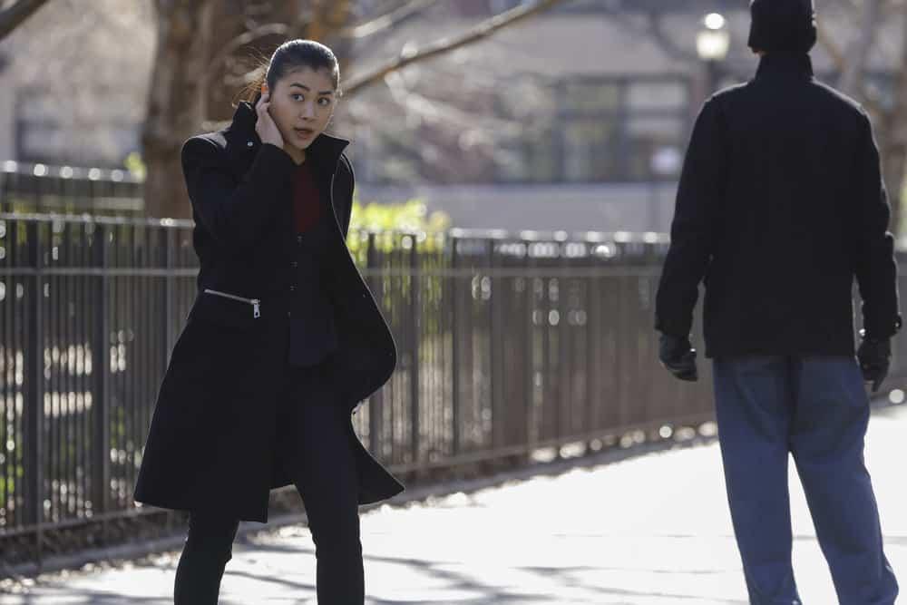 "THE BLACKLIST Season 8 Episode 16 -- ""Nicholas Obenrader (#133)"" Episode 816 -- Pictured: Laura Sohn as Agent Alina Park -- (Photo by: Will Hart/NBC)"