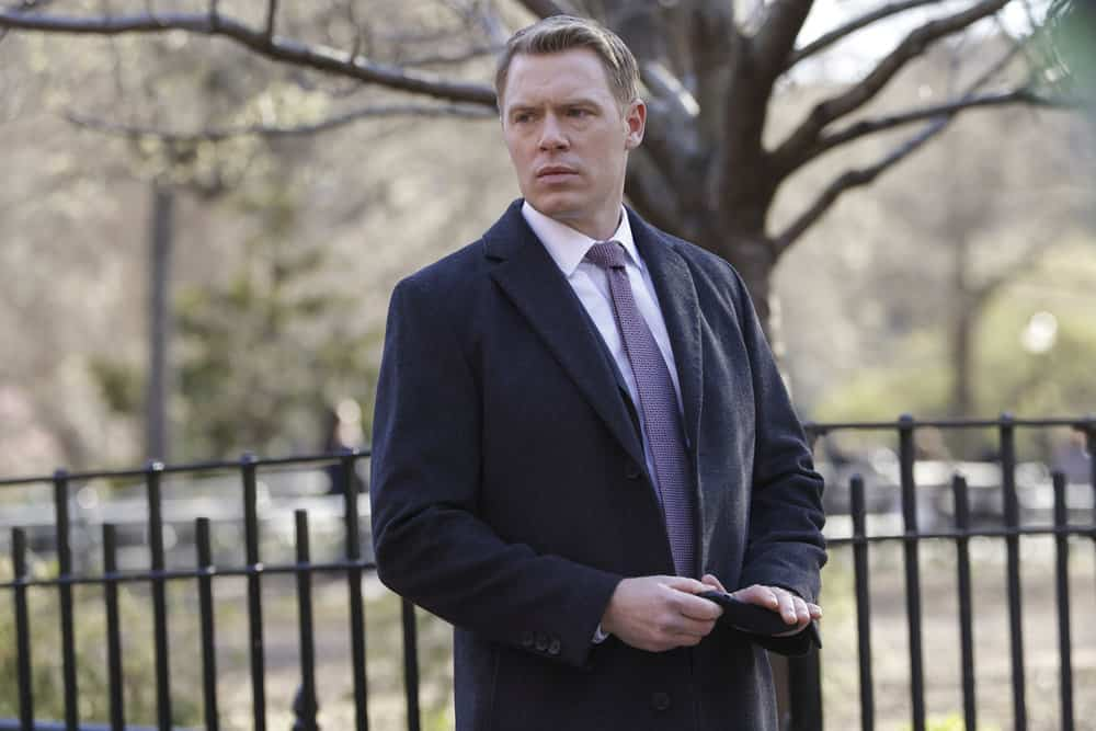 "THE BLACKLIST Season 8 Episode 16 -- ""Nicholas Obenrader (#133)"" Episode 816 -- Pictured: Diego Klattenhoff as Donald Ressler -- (Photo by: Will Hart/NBC)"