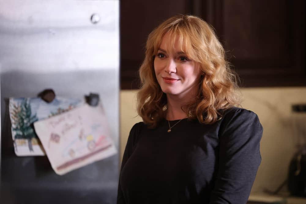 "GOOD GIRLS Season 4 Episode 8 -- ""Broken Toys"" Episode 408 -- Pictured: Christina Hendricks as Beth Boland  -- (Photo by: Jordin Althaus/NBC)"