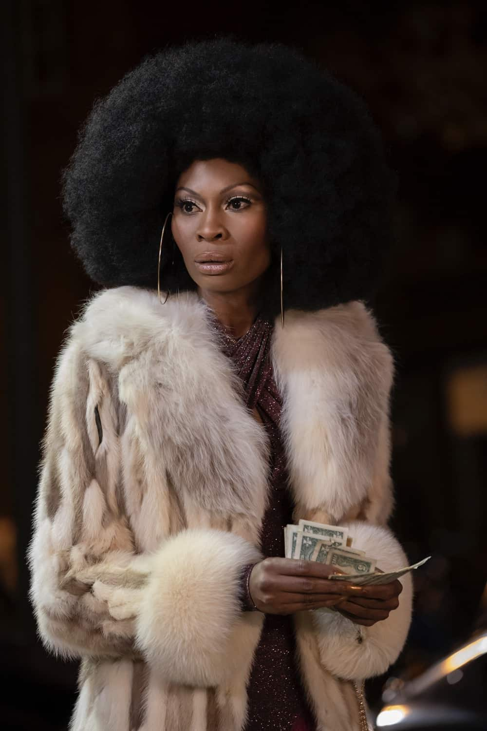 """POSE Season 3 Episode 3 -- """"The Trunk"""" -- Season 3, Episode 3 (Airs May 9) Pictured: Dominique Jackson as Elektra. CR: Eric Liebowitz/FX"""