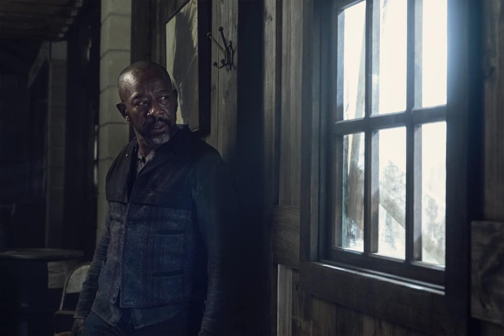 FEAR THE WALKING DEAD Season 6 Episode 12 Lennie James as Morgan Jones - Fear the Walking Dead _ Season 6, Episode 12 - Photo Credit: Ryan Green/AMC