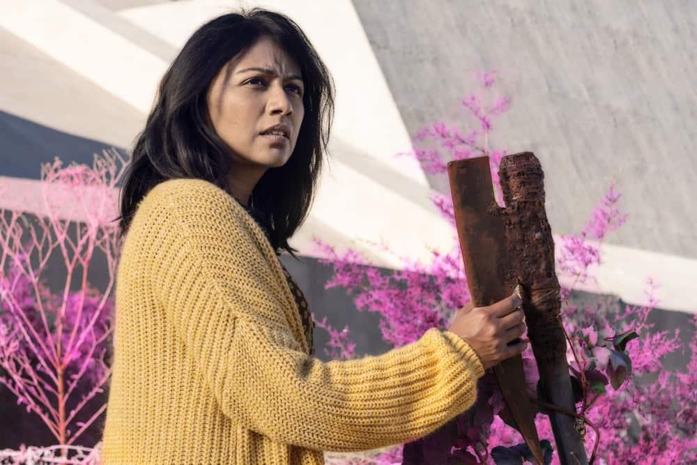 FEAR THE WALKING DEAD Season 6 Episode 12 Karen David as Grace - Fear the Walking Dead _ Season 6, Episode 12 - Photo Credit: Ryan Green/AMC