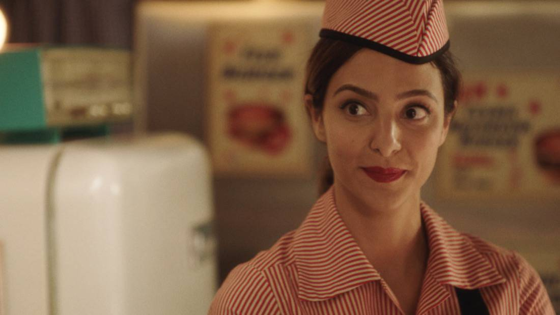 """LEGENDS OF TOMORROW Season 6 Episode 2 -- """"Meat: The Legends"""" -- Image Number: LGN602fg_0036r.jpg -- Pictured: Tala Ashe as Zari -- Photo: The CW -- © 2021 The CW Network, LLC. All Rights Reserved."""