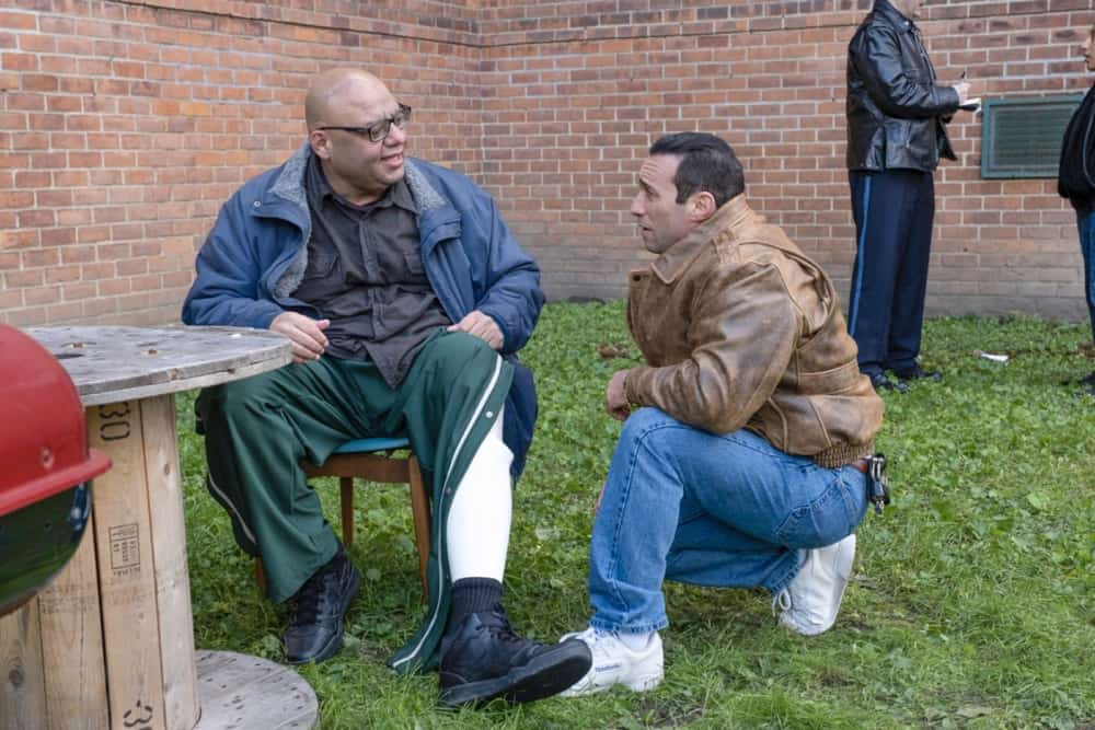 "CITY ON A HILL Season 2 Episode 7 (L-R): Kevin Interdonato as Tony Suferin in CITY ON A HILL, ""Apophasis"". Photo Credit: Francisco Roman/SHOWTIME."