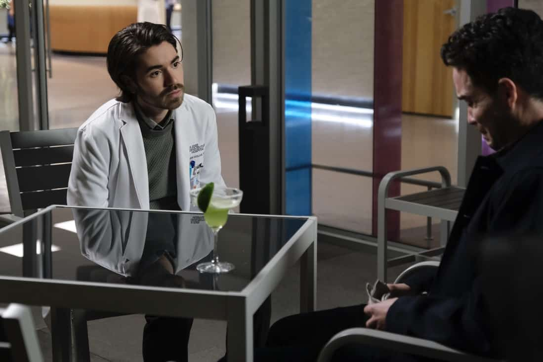 """THE GOOD DOCTOR Season 4 Episode 16 - """"Dr. Ted"""" – Shaun struggles with his role as Lea's partner after complications arise with the pregnancy and his instincts as a medical professional kick in. Meanwhile, Dr. Park, Dr. Andrews and Asher disagree on how to address an elderly patient's wishes on an all-new episode of """"The Good Doctor,"""" MONDAY, MAY 10 (10:00-11:00 p.m. EDT), on ABC. (ABC/Jeff Weddell) NOAH GALVIN"""
