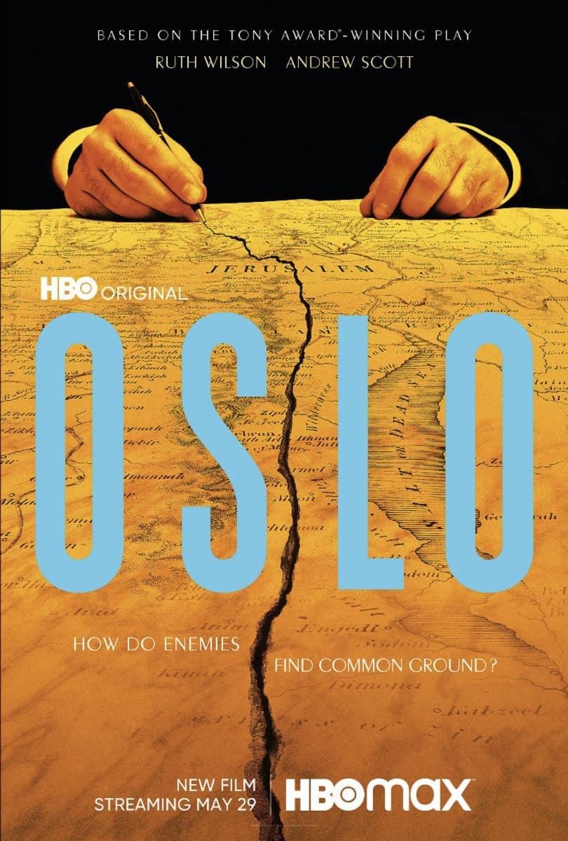 Oslo Movie Poster Key Art HBO