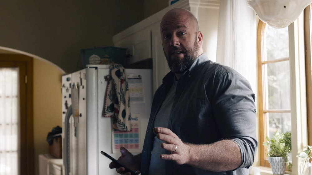 """THIS IS US Season 5 Episode 14 -- """"The Music and the Mirror"""" Episode 514 -- Pictured in this screengrab: Chris Sullivan as Toby -- (Photo by: NBC)"""