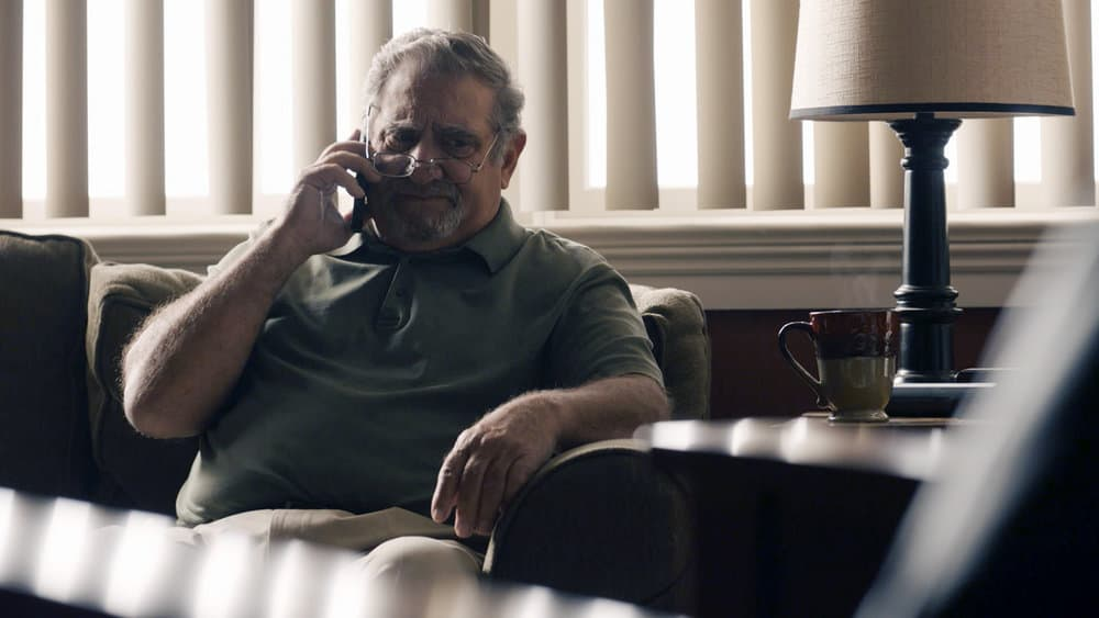 """THIS IS US Season 5 Episode 14 -- """"The Music and the Mirror"""" Episode 514 -- Pictured in this screengrab: Dan Lauria as Allan -- (Photo by: NBC)"""
