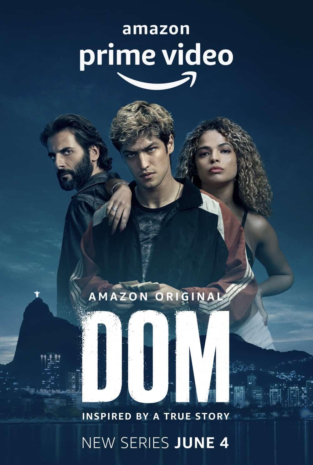 Dom Poster Key Art Amazon Prime Video TV Series