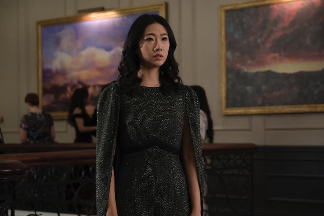 """KUNG FU Season 1 Episode 6 -- """"Rage"""" -- Image Number: KF106a_0062r.jpg -- Pictured: Olivia Liang as Nicky -- Photo: Bettina Strauss/The CW -- © 2021 The CW Network, LLC. All Rights Reserved"""