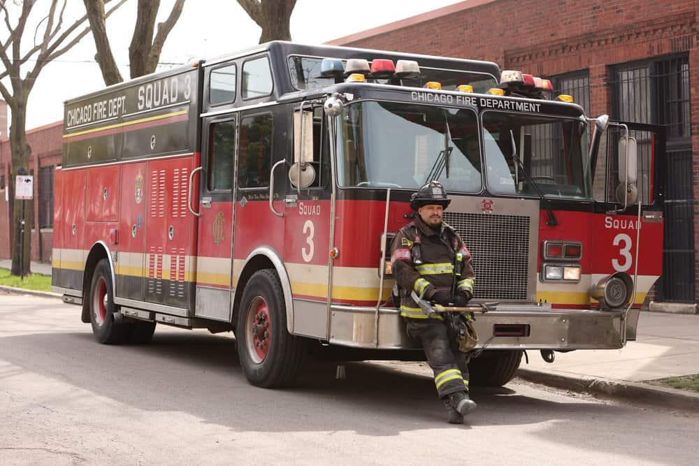 "CHICAGO FIRE Season 9 Episode 14 -- ""What Comes Next"" Episode 914 -- Pictured: Joe Minoso as Joe Cruz -- (Photo by: Adrian S. Burrows Sr./NBC)"