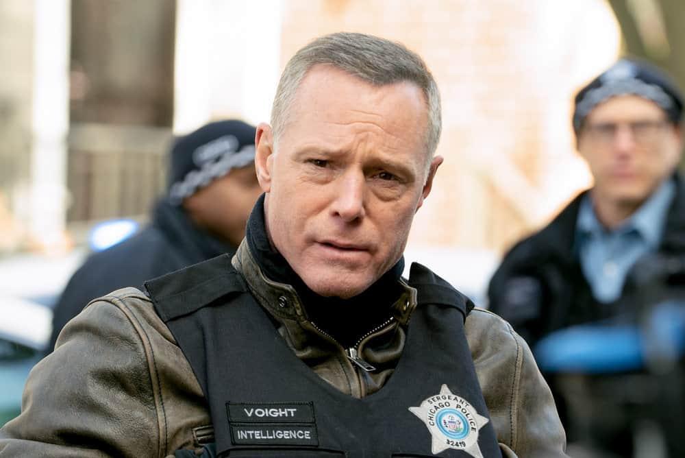 "CHICAGO PD Season 8 Episode 14 -- ""Safe"" Episode 814 -- Pictured: Jason Beghe as Hank Voight -- (Photo by: Lori Allen/NBC)"