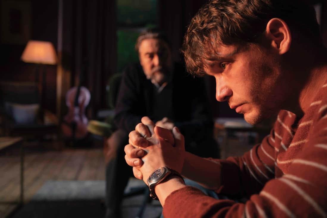 Billy Howle as Strangeways, Nathaniel Parker as Blount - The Beast Must Die _ Season 1, Episode 3 - Photo Credit: Gareth Gatrell/AMC
