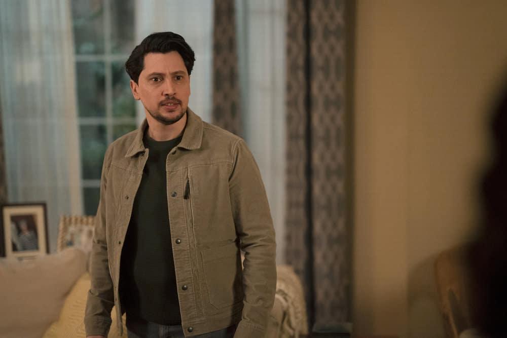"MANIFEST Season 3 Episode 9 -- ""Bogey"" Episode 309 -- Pictured: Ali Lopez-Sohaili as Eagan -- (Photo by: Peter Kramer/NBC)"