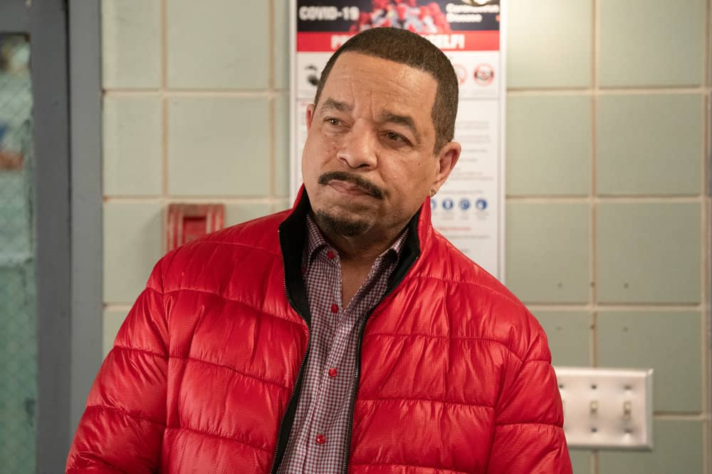 """LAW AND ORDER SVU Season 22 Episode 13 -- """"Trick-Rolled at the Moulin"""" Episode 22013 -- Pictured: Ice T as Sergeant Odafin """"Fin"""" Tutuola -- (Photo by: Virginia Sherwood/NBC)"""