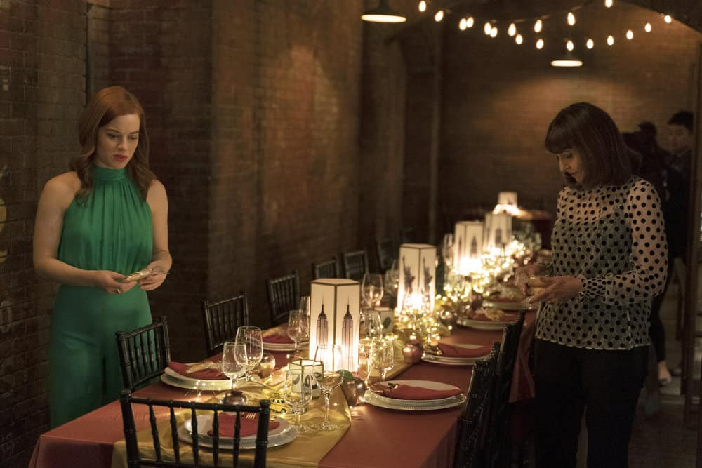"ZOEY'S EXTRAORDINARY PLAYLIST Season 2 Episode 13-- ""Zoey's Extraordinary Goodbye"" Episode 213 -- Pictured: (l-r) Jane Levy as Zoey Clarke, Mary Steenburgen as Maggie Clarke -- (Photo by: Michael Courtney/NBC/Lionsgate)"