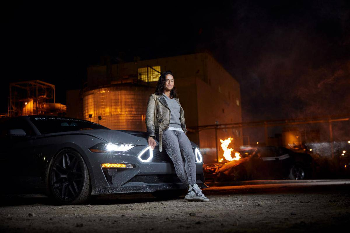 Michelle Rodriguez Getaway Driver Discovery Channel