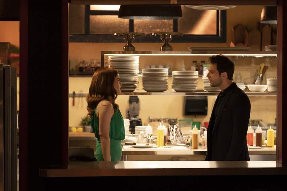 "ZOEY'S EXTRAORDINARY PLAYLIST Season 2 Episode 13 -- ""Zoey's Extraordinary Goodbye"" Episode 213 -- Pictured: (l-r) Jane Levy as Zoey Clarke, Skylar Astin as Max -- (Photo by: Michael Courtney/NBC/Lionsgate)"
