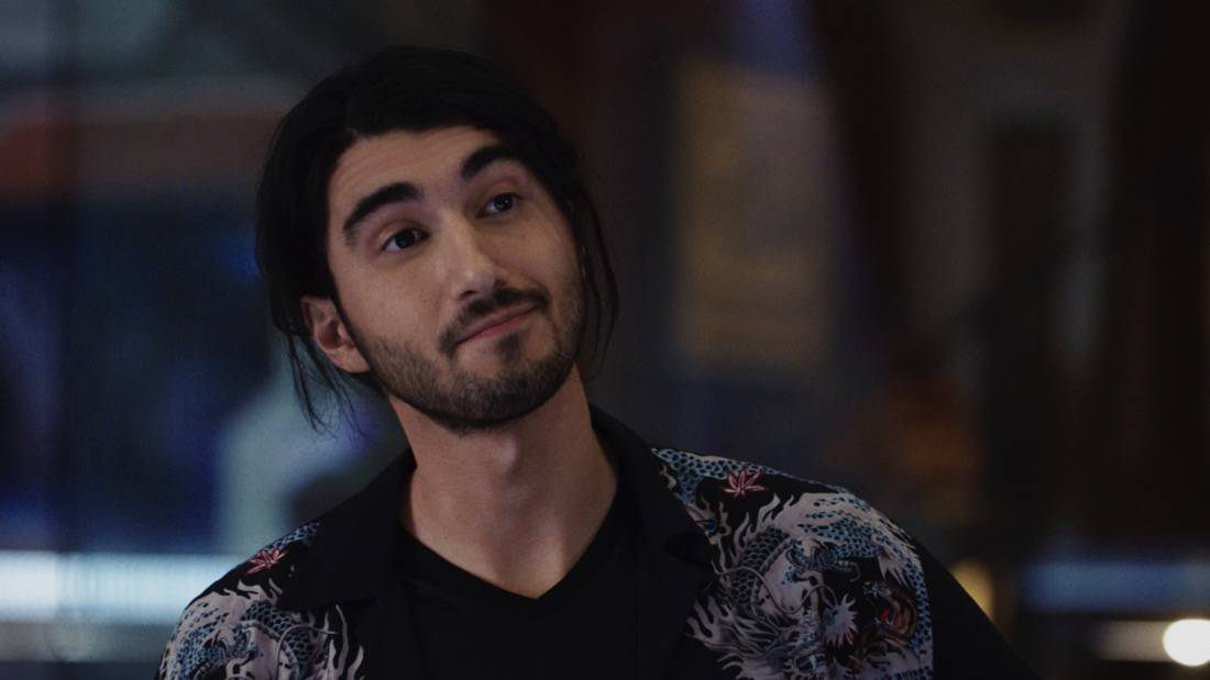 """LEGENDS OF TOMORROW Season 6 Episode 3 -- """"The Ex-Factor"""" -- Image Number: LGN603fg_0005r.jpg -- Pictured: Shayan Sobhian as Behrad -- Photo: The CW -- © 2021 The CW Network, LLC. All Rights Reserved."""
