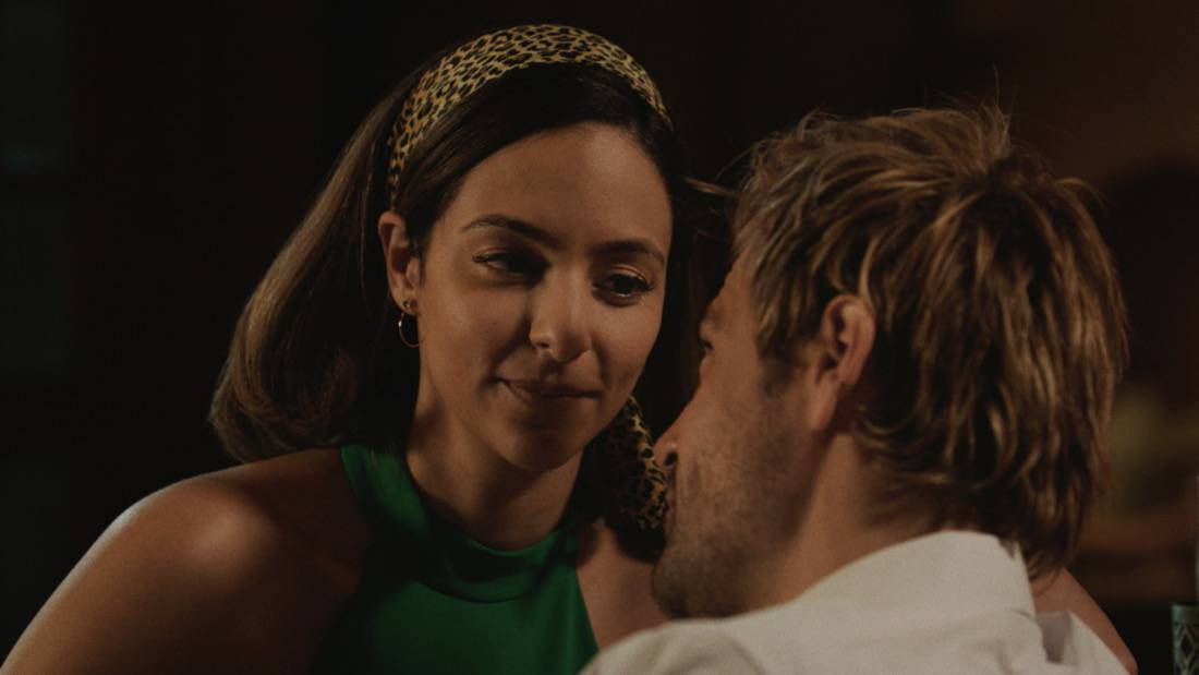 """LEGENDS OF TOMORROW Season 6 Episode 3 -- """"The Ex-Factor"""" -- Image Number: LGN603fg_0002r.jpg -- Pictured (L-R): Tala Ashe as Zari and Matt Ryan as Constantine -- Photo: The CW -- © 2021 The CW Network, LLC. All Rights Reserved."""