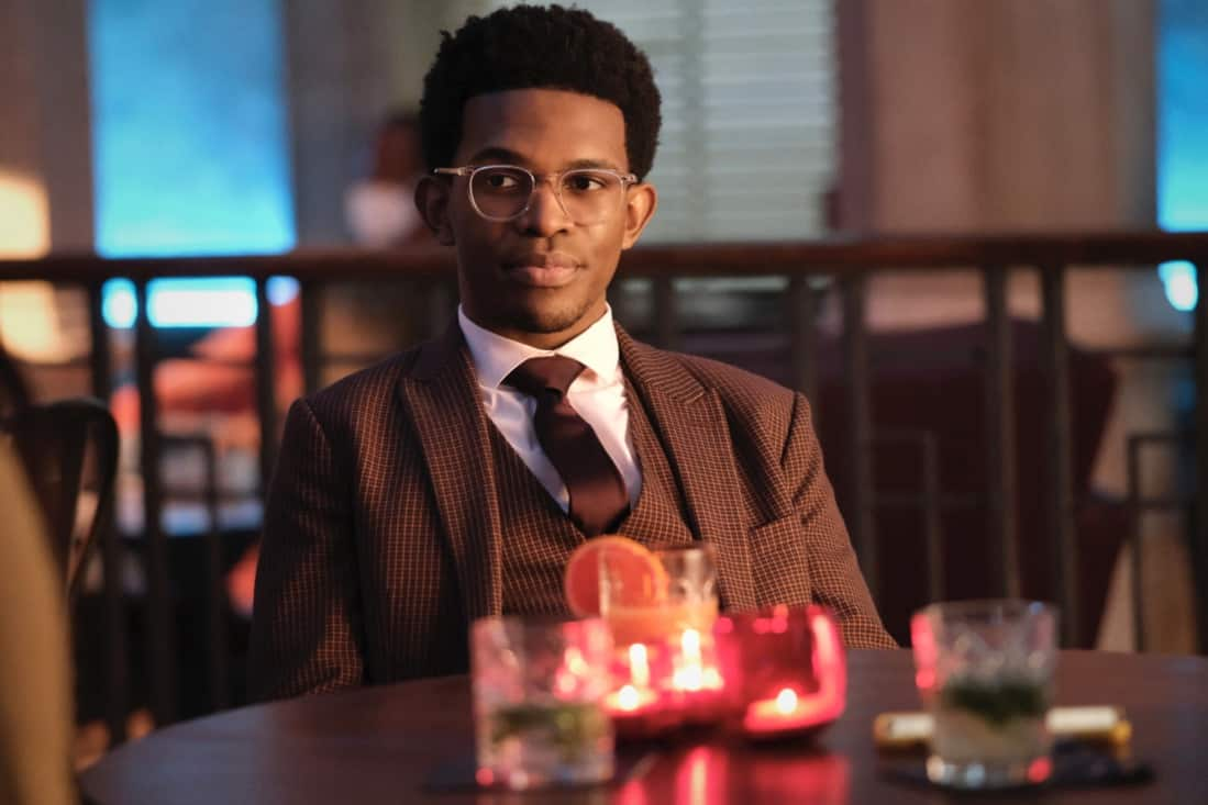 """BATWOMAN Season 2 Episode 14 -- """"And Justice For All"""" -- Image Number: BWN214a_0247r -- Pictured: Camrus Johnson as Luke Fox -- Photo: Bettina Strauss/The CW -- © 2021 The CW Network, LLC. All Rights Reserved."""