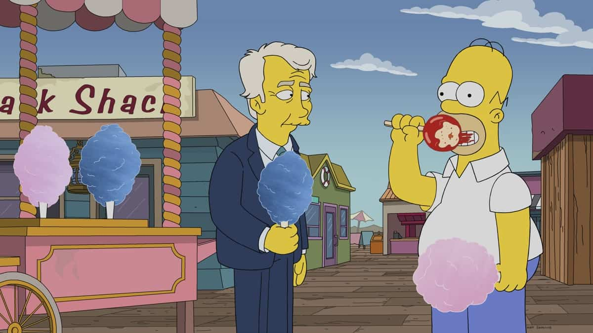 THE SIMPSONS Season 32 Episode 21 Photos The Man From G.R.A.M.P.A.