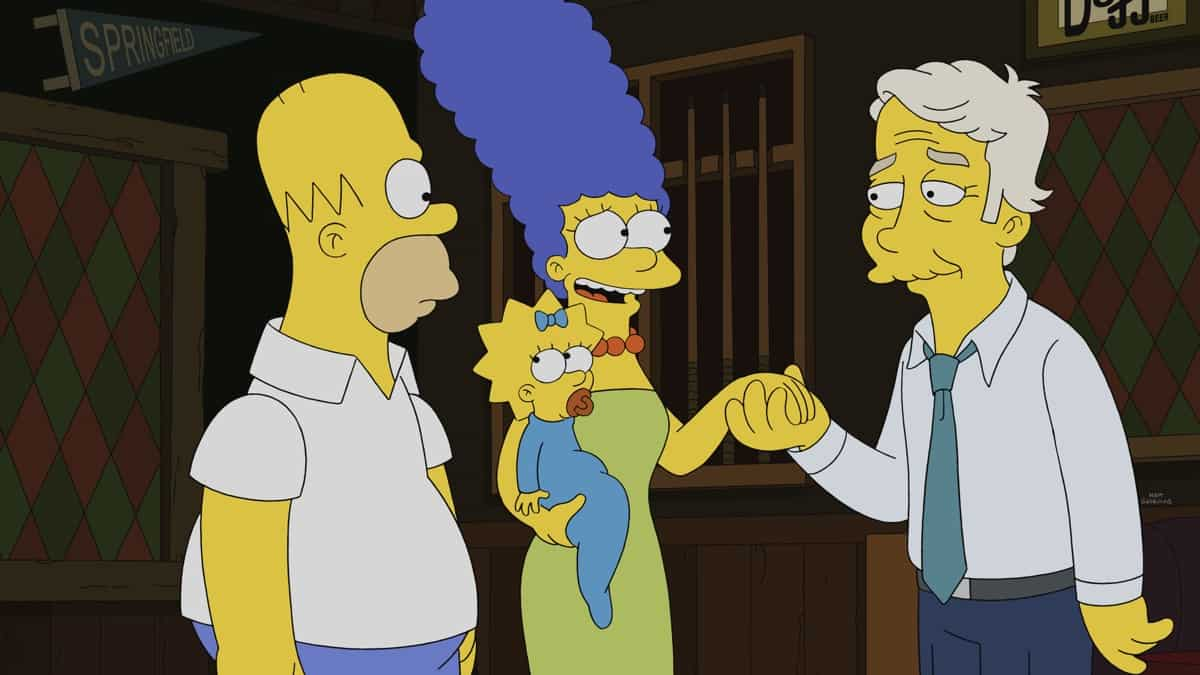 """THE SIMPSONS Season 32 Episode 21 : A British secret agent comes to Springfield in search of a Russian spy in the """"The Man From G.R.A.M.P.A."""" episode of THE SIMPSONS airing Sunday, May 16 (8:00-8:30 PM ET/PT) on FOX. Guest voice Stephen Fry. THE SIMPSONS © 2021 by 20th Television."""