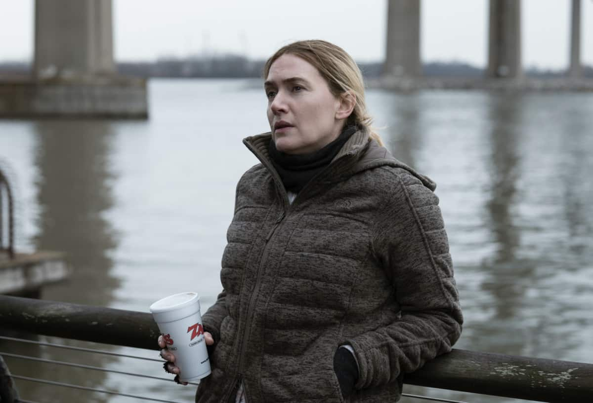 MARE OF EASTTOWN Season 1 Episode 5 Kate Winslet HBO Mare of Easttown Photograph by Michele K. Short/HBO