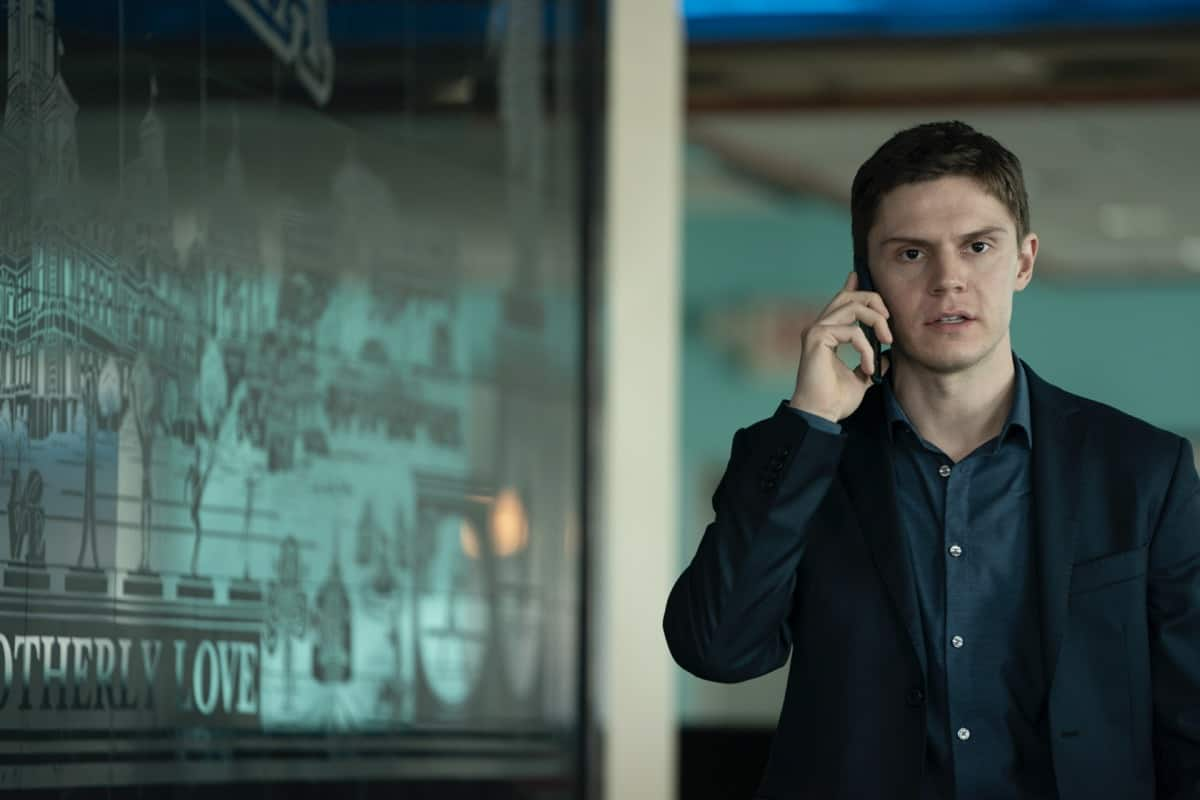 MARE OF EASTTOWN Season 1 Episode 5 Evan Peters HBO Photograph by Michele K. Short/HBO