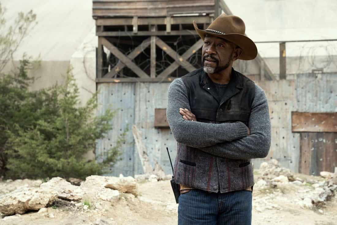 FEAR THE WALKING DEAD Season 6 Episode 13 Lennie James as Morgan Jones - Fear the Walking Dead _ Season 6, Episode 13 - Photo Credit: Ryan Green/AMC