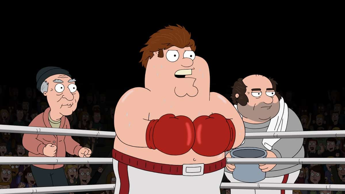 FAMILY GUY Season 19 Episode 20 Photos Tales Of Former Sports Glory