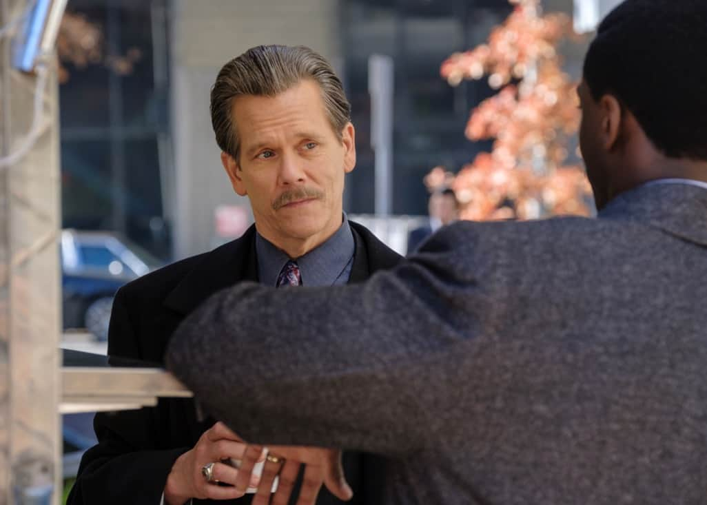 """CITY ON A HILL Season 2 Episode 8 Kevin Bacon as Jackie Rohr in CITY ON A HILL, """"Pax Bostonia"""". Photo Credit: Francisco Roman/SHOWTIME."""