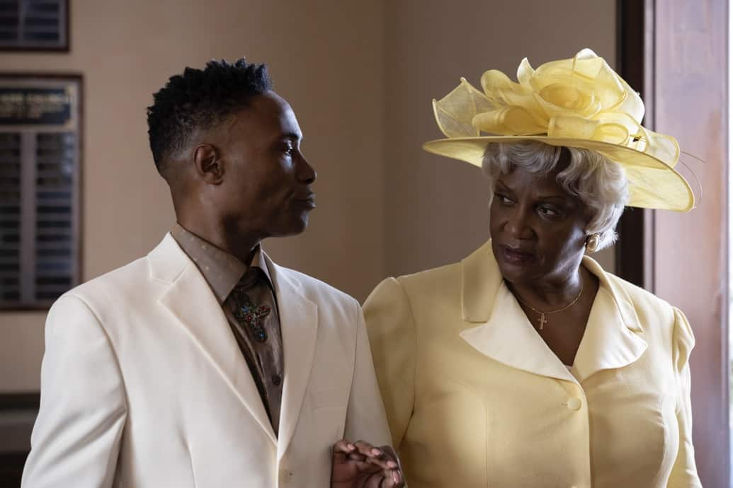 """POSE Season 3 Episode 4 -- """"Take Me To Church"""" -- Season 3, Episode 4 (Airs May 16) Pictured: Billy Porter as Pray Tell, Anna Maria Horsford as Charlene. CR: Eric Liebowitz/FX"""