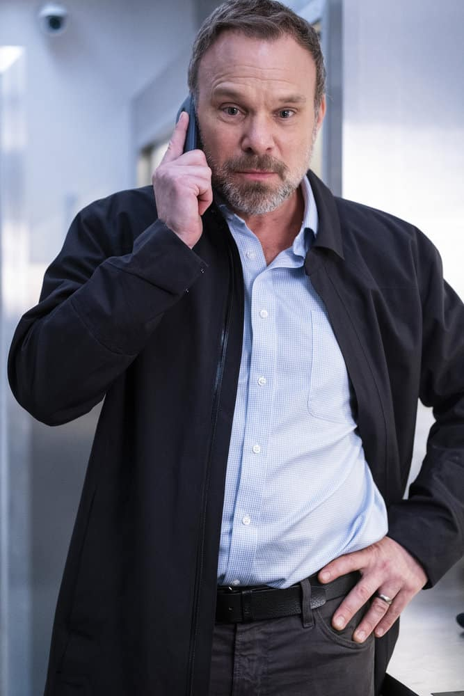 """DEBRIS Season 1 Episode 12 -- """"A Message From Ground Control"""" Episode: 112 -- Pictured: Norbert Butz as Maddox -- (Photo by: James Dittiger/NBC)"""