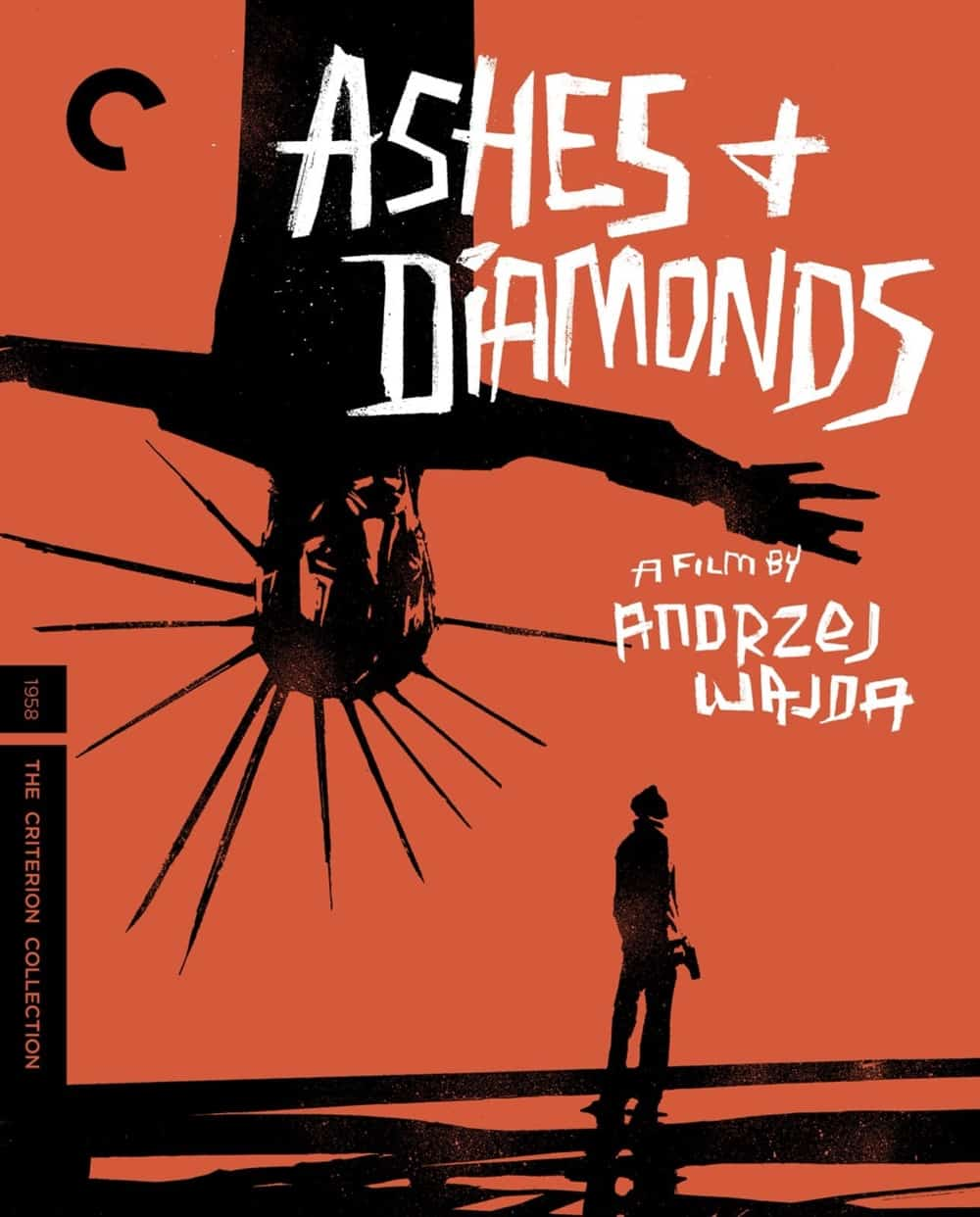 Ashes And Diamonds Criterion Collection Bluray Cover