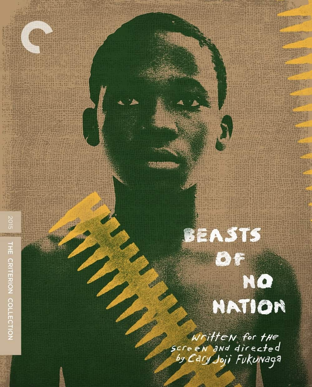 Beast of no Nation Criterion Collection Bluray Cover