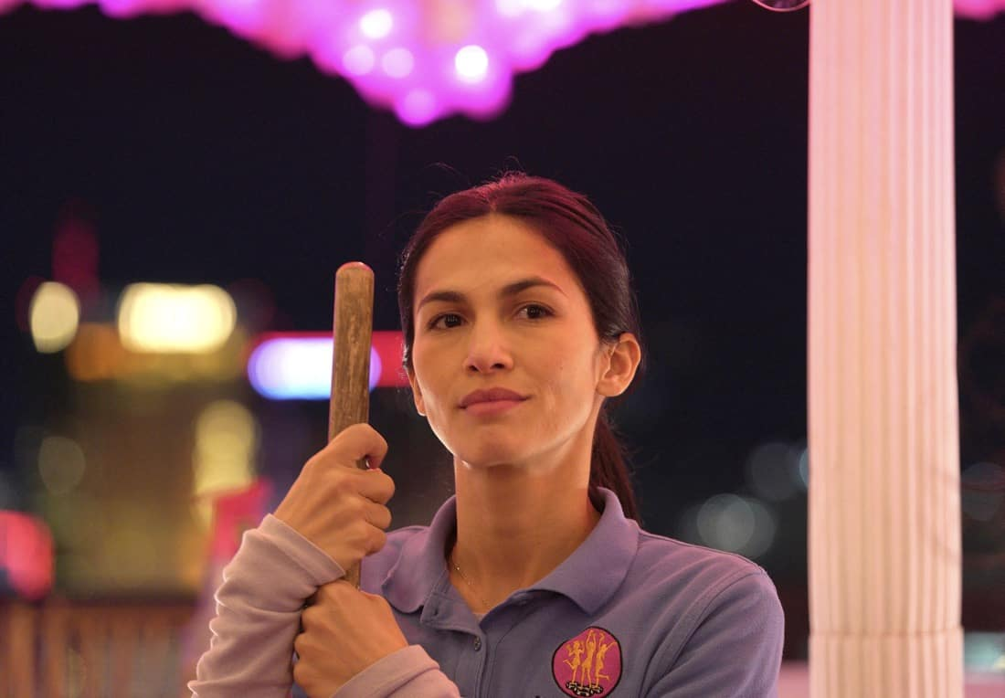 THE CLEANING LADY: Elodie Yung in the new FOX Drama THE CLEANING LADY. ©2021 Fox Media LLC. CR: Ursula Coyote/FOX