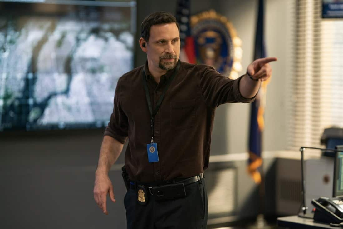 """FBI Season 3 Episode 14 """"Trigger Effect"""" - While investigating a mass casualty incident at a New York City restaurant, the team scrambles to determine if it was racially motivated and if there was more than one gunman. Also, Maggie begins to notice troubling behavior from her co-worker, Elise (Vedette Lim), on FBI, Tuesday, May 18 (9:00-10:00 PM, ET/PT) on the CBS Television Network.. Pictured Jeremy Sisto as Assistant Special Agent in Charge Jubal Valentine Photo: Michael Parmelee/ ©2021 CBS Broadcasting, Inc. All Rights Reserved."""