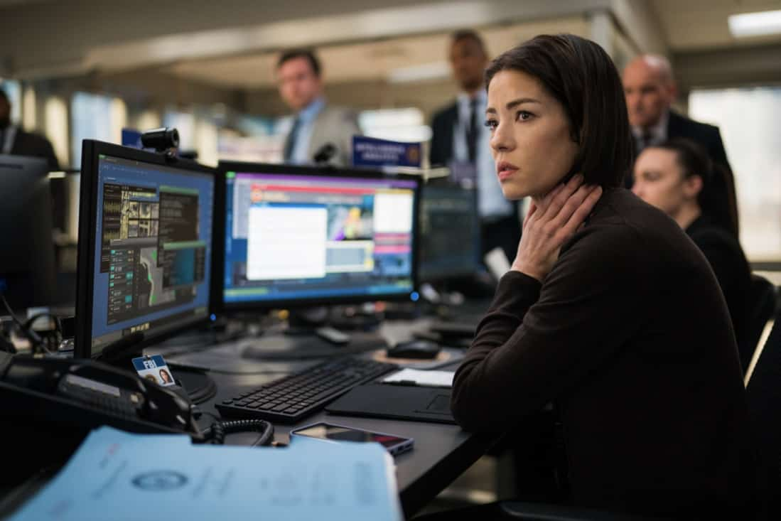 """FBI Season 3 Episode 14 """"Trigger Effect"""" - While investigating a mass casualty incident at a New York City restaurant, the team scrambles to determine if it was racially motivated and if there was more than one gunman. Also, Maggie begins to notice troubling behavior from her co-worker, Elise (Vedette Lim), on FBI, Tuesday, May 18 (9:00-10:00 PM, ET/PT) on the CBS Television Network.. Pictured Vedette Lim as Elise Taylor Photo: Michael Parmelee/ ©2021 CBS Broadcasting, Inc. All Rights Reserved."""