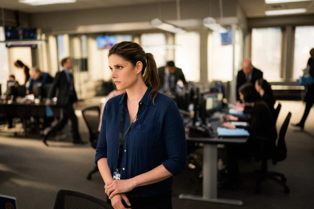 """FBI Season 3 Episode 14 """"Trigger Effect"""" - While investigating a mass casualty incident at a New York City restaurant, the team scrambles to determine if it was racially motivated and if there was more than one gunman. Also, Maggie begins to notice troubling behavior from her co-worker, Elise (Vedette Lim), on FBI, Tuesday, May 18 (9:00-10:00 PM, ET/PT) on the CBS Television Network.. Pictured Missy Peregrym as Special Agent Maggie Bell Photo: Michael Parmelee/ ©2021 CBS Broadcasting, Inc. All Rights Reserved."""