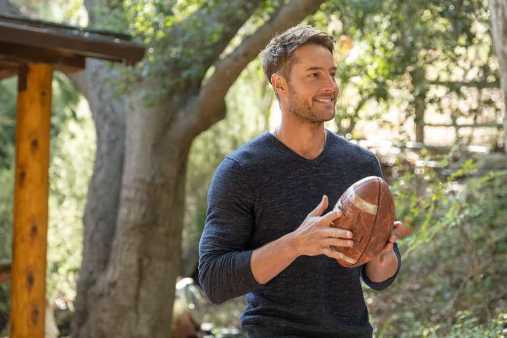 """THIS IS US Season 5 Episode 15 -- """"Jerry 2.0"""", Episode 515 -- Pictured: Justin Hartley as Kevin -- (Photo by: Ron Batzdorff/NBC)"""