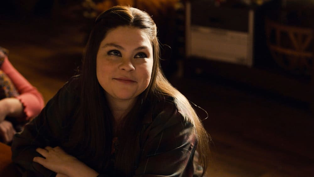 """THIS IS US Season 5 Episode 15 -- """"Jerry 2.0"""" Episode 515 -- Pictured in this screengrab: Hannah Zeile as Kate -- (Photo by: NBC)"""