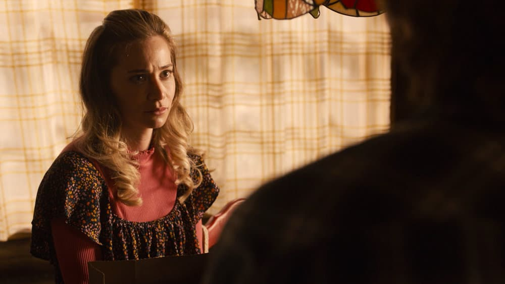 """THIS IS US Season 5 Episode 15 -- """"Jerry 2.0"""" Episode 515 -- Pictured in this screengrab: Amanda Leighton as Sophie -- (Photo by: NBC)"""