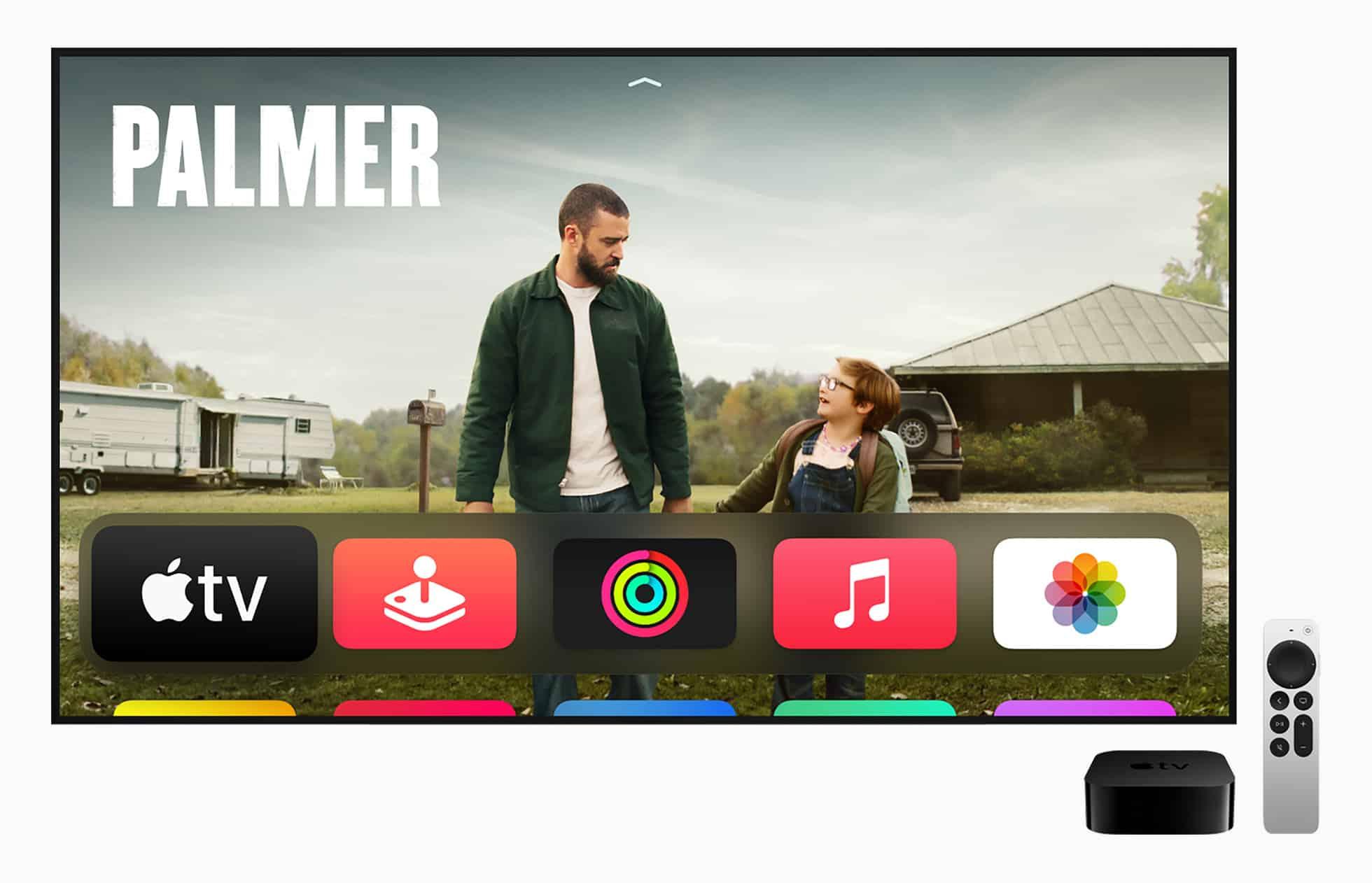 AppleTV 4K Siri remote AppleTVPlus Palmer 051721