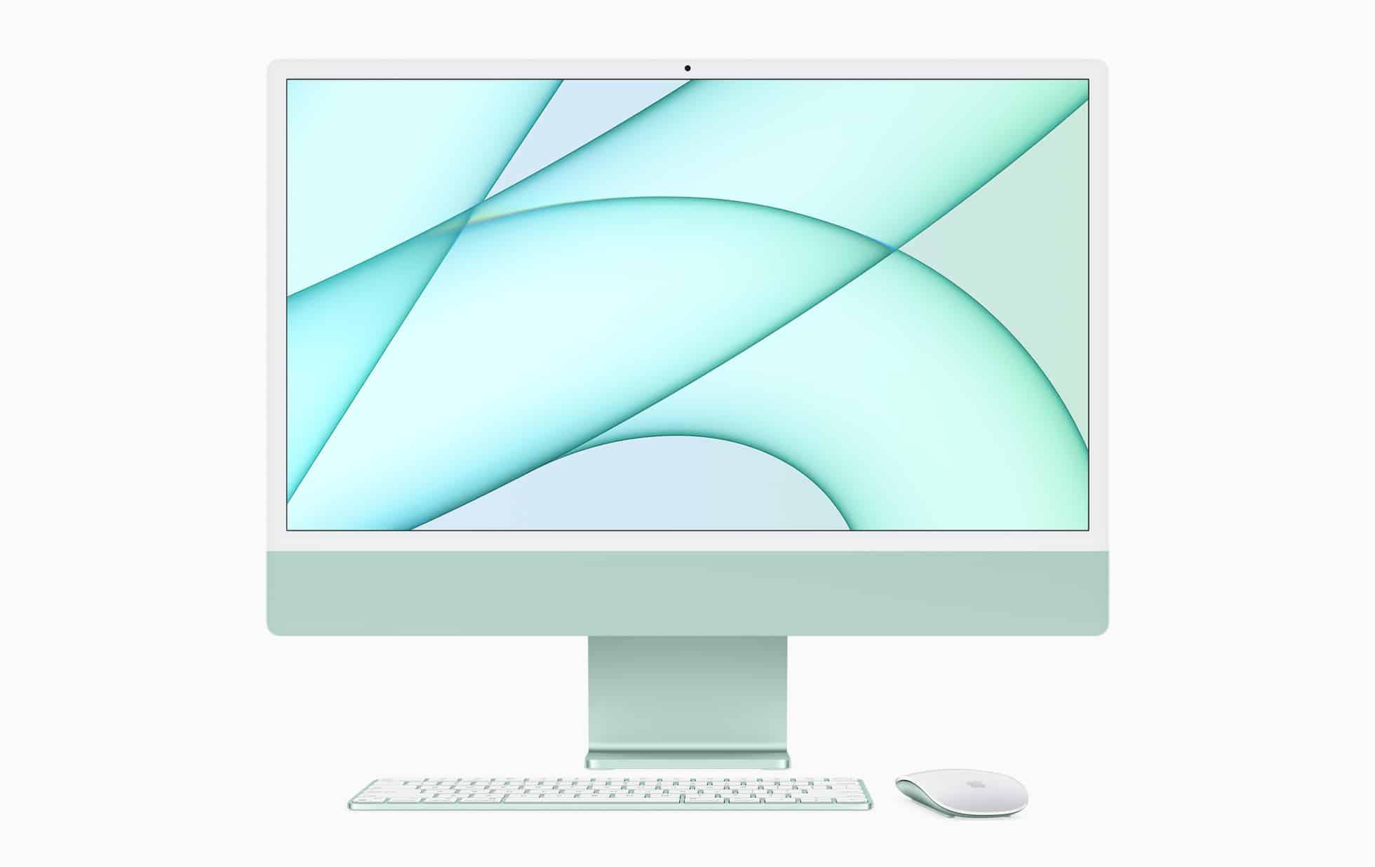 Apple new iMac spring21 green 051721