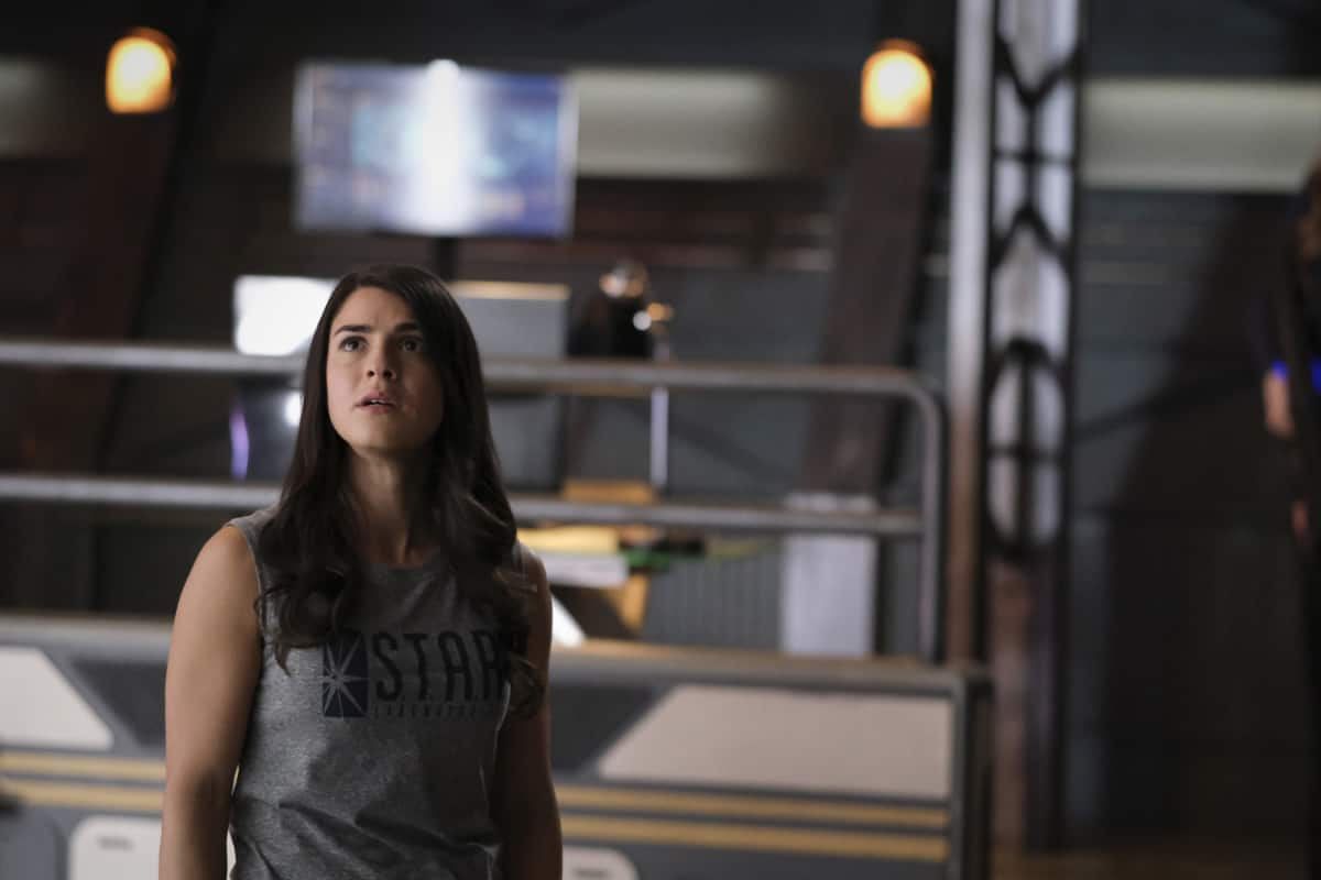 """THE FLASH Season 7 Episode 10 -- """"Family Matters, Part 1"""" -- Image Number: FLA710a_0052r.jpg -- Pictured: Sara Garcia as Alexa -- Photo: Bettina Strauss/The CW -- © 2021 The CW Network, LLC. All Rights Reserved.Photo Credit: Bettina Strauss"""